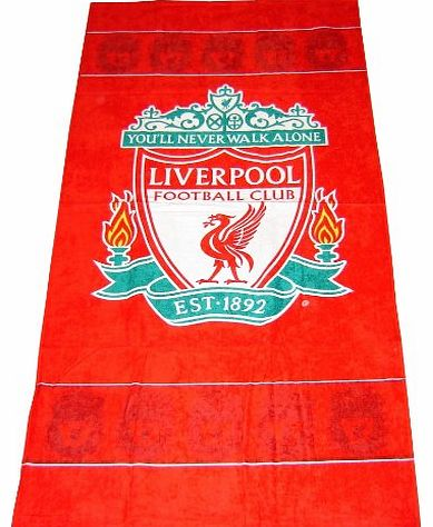 Liverpool F.C. Border Crest Towel
