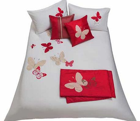 Butterfly Red Bed in a Bag - Double
