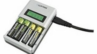 LLOYTRON  Intelligent LCD Battery Charger AA or AAA Ni-Mh or Ni-Cd
