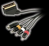 Multi-Format Scart/AVS Cable GOLD
