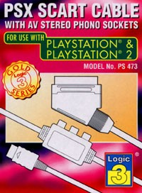 Scart Cable PS2