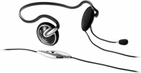 logitech PC 880 Stereo Headset - Black/Silver