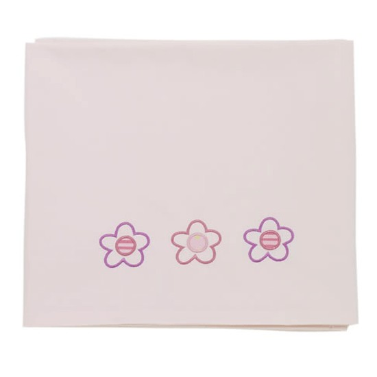 - Rosie Posy - Cot/Cotbed Flat Sheet