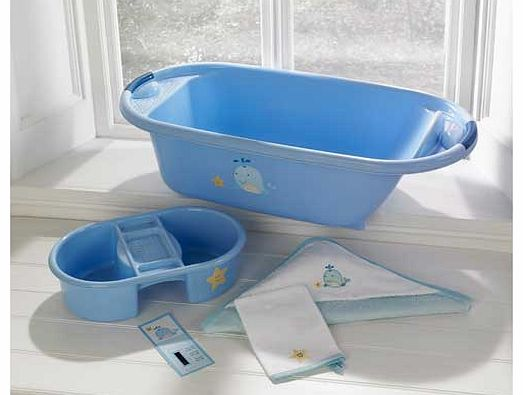 Blue Whale Bath Set