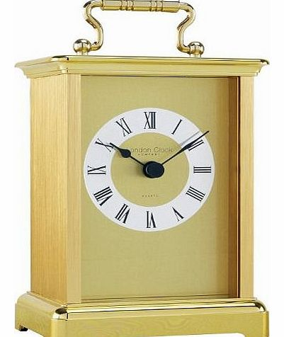 London Clock Mantle Clock - Gold Carriage Clock 02054