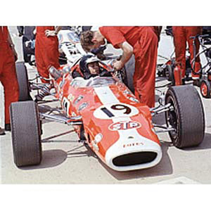 38 - 2nd Indianapolis 500 1966 - #19 J.