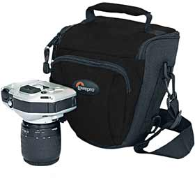 Lowepro Topload Zoom 1 - Holster Style Camera Case - Black