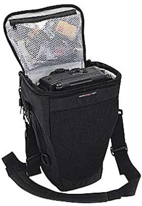 Lowepro Topload Zoom 2 - Holster Style Camera Case - Black