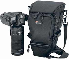 Lowepro Topload Zoom AW - All Weather Holster Style SLR Camera Case - Black