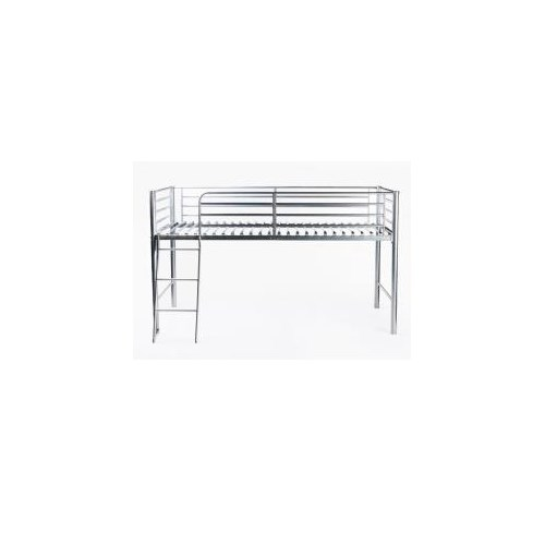 LPD Limited Saturn Mid Sleeper Bunk Bed In Silver