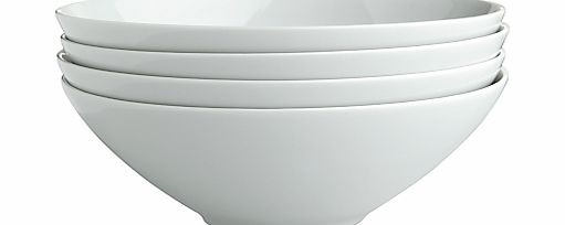 LSA International LSA Dine Cereal Bowl, Set of 4, Dia.18cm