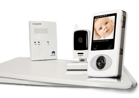 Platinum Camera Baby Monitor + Babysense