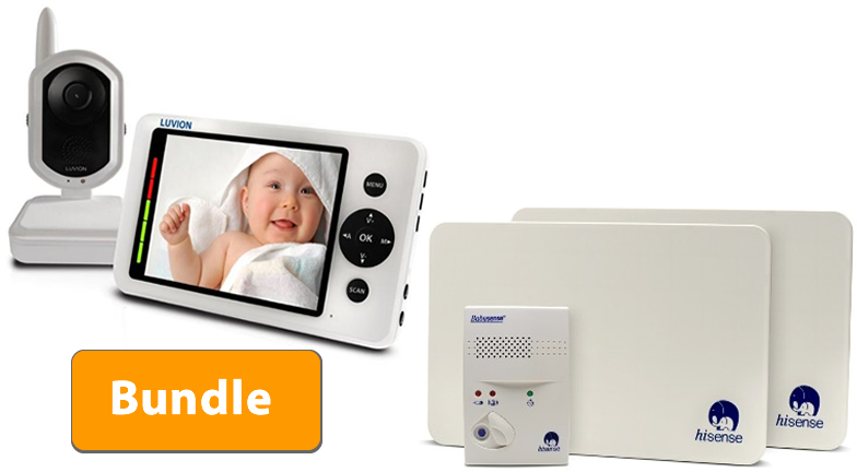 Luvion Grand Elite Baby Monitor and Babysense II