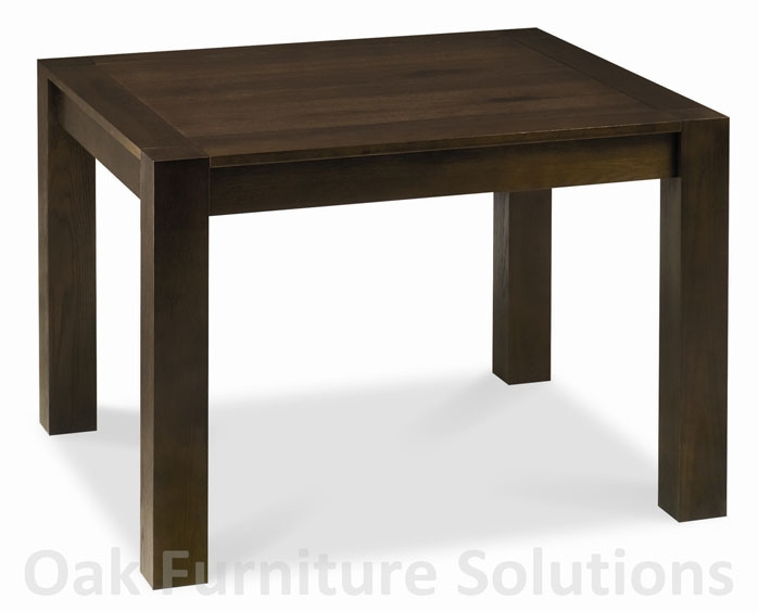 Walnut End Extension Dining Table -