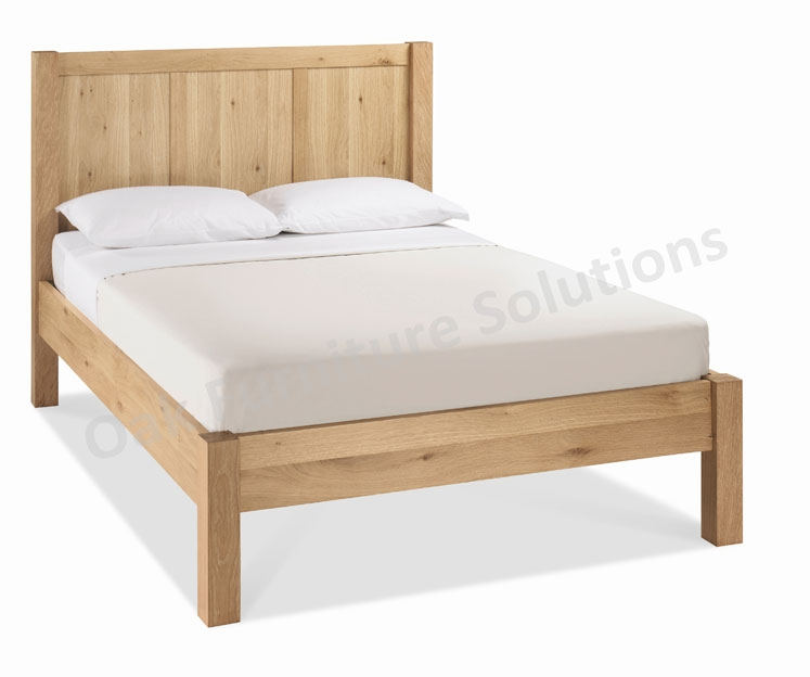 Washed Oak Bedstead - Double or King Size