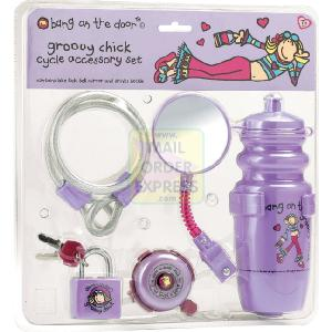 MV Sports Bang On the Door Groovy Chick Cycle Accessory Set