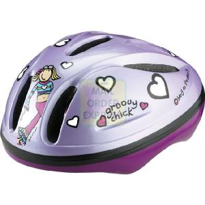 MV Sports Bang On the Door Groovy Chick Safety Helmet