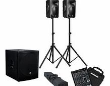 PROFX8 and SRM Active PA System Package