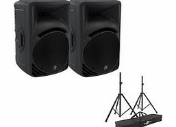 SRM450 V3 Active PA Speaker Pair with
