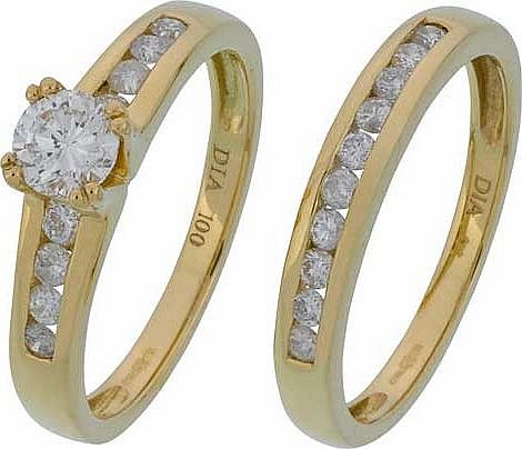Made for You 18ct Gold 1ct Solitaire Diamond