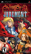 Majesco Guilty Gear Judgment PSP