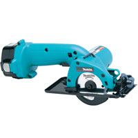 5093Dwde 12v Cordless Circular Saw 85mm Blade   2 Batteries 2.6Ah NiMh