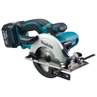 Bss500Rfe 14.4v Cordless Circular Saw 136mm Blade   2 Lithium Ion Batteries 3Ah