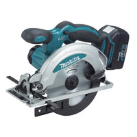 Bss610Rfe 18v Cordless Circular Saw 165mm Blade   2 Lithium Ion Batteries 3Ah