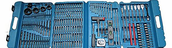 Complete Drill and Bit Set (216 Pieces)