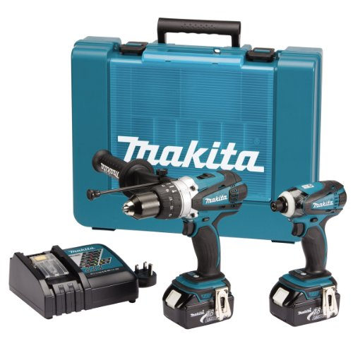 DK18000 18V LXT Lithium-Ion Cordless Kit with 2 x Batteries (2 Pieces)