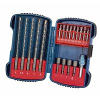 SDS Plus Drill and Driver Set 19 Pieces