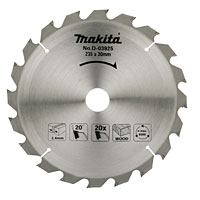 TCT Circular Saw Blade 20T 235x25-30mm