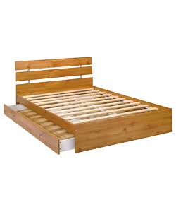 Malibu Double Bed Frame - Pine