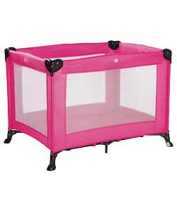 Travel Cot Pink