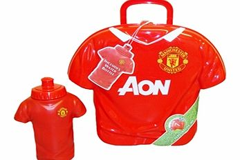 Manchester United FC Shirt Shape Lunch Box