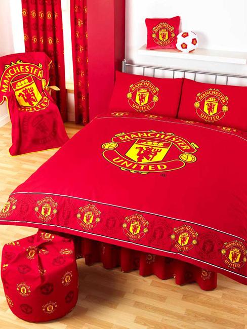 Manchester United Bed Sheet Online
