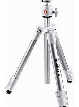Compact Light Tripod for Compact System Camera - White