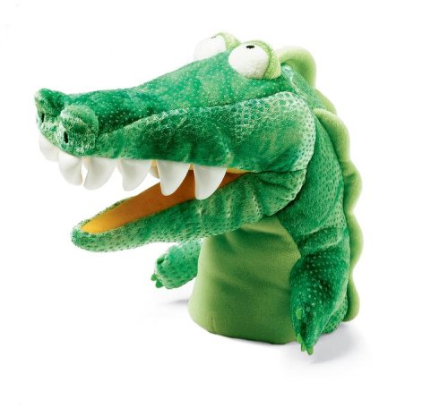 Manhattan Toys Hand Puppet Alligator