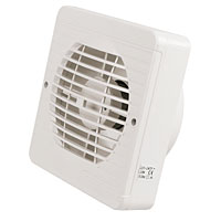 MANROSE Axial 25W Pullcord Kitchen Fan