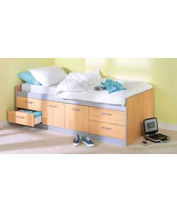 Cabin Bed with Firm Mattress