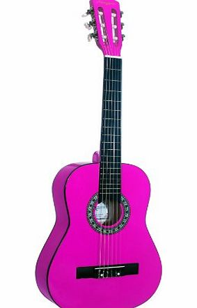 Martin Smith 34 inch 1/2 Size Classical Guitar - Pink