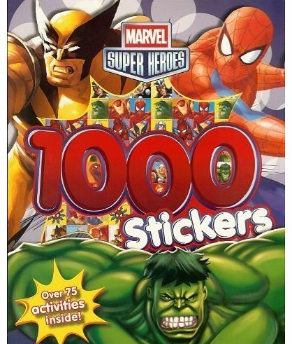 Super Heroes: Colouring and Activity Book With 1000 Stickers!