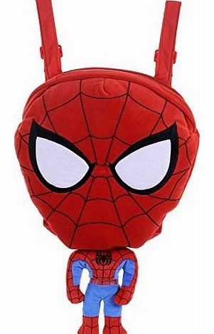 Spiderman Backpack Plush Toy