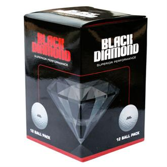 Black Diamond Golf Balls (12 Balls)