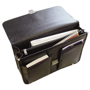 Leather Look Fashion Briefcase