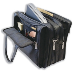 Organiser Briefcase Leather with 2