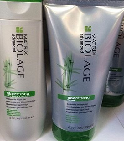 Matrix  BIOLAGE ADVANCED FIBERSTRONG SHAMPOO 250ML amp; CONDITIONER 200ML