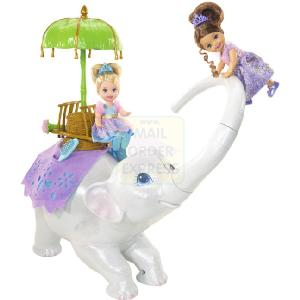 Barbie As The Island Princess Swing and Twirl Tika Elephant