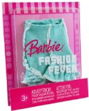 Barbie Fashion Fever K8459 Doll Green Skirt Outfit