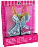 Barbie Fashion Fever L3338 Doll Sparkly Blue Vest Top Outfit